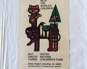 Celestino Piatti UNICEF Poster