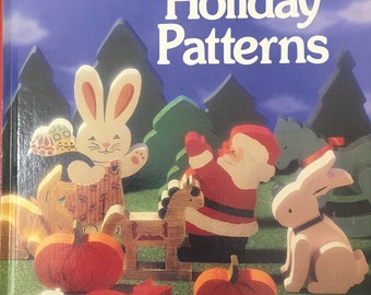 Scroll Saw Holiday Patterns Patrick Patricia Speilman 1991 Hardcover
