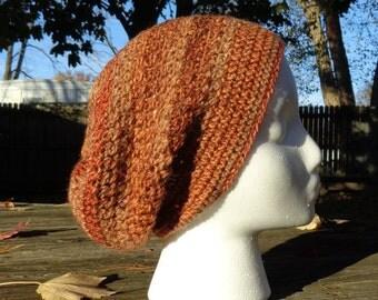 Autumn Colors slouchy hat