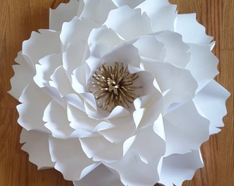 Paper flower home decor, Giant paper flowers, Large paper flowers,  Paper flower backdrop, Paper flower decor, Nursery paper flowers.