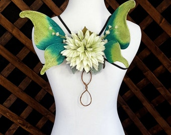 Green Twig Pixie Fairy Wings