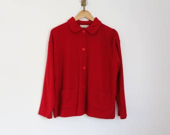 vintage 90s Express Tricot minimalist jacket