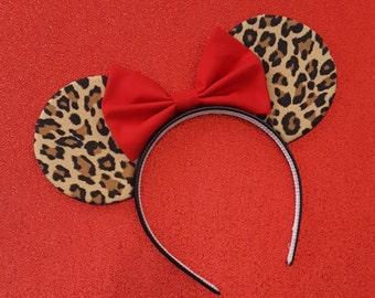 Leopard Mouse Ears