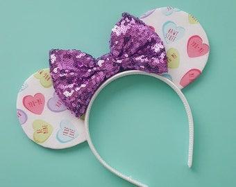 Heart Convo Mouse Ears