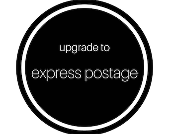Upgrade to express postage