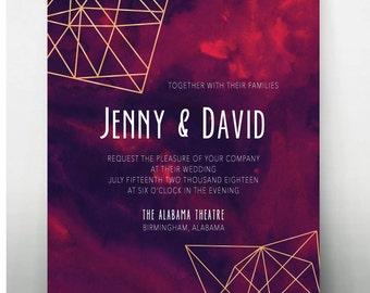 Geometric Modern Invite • 5x7