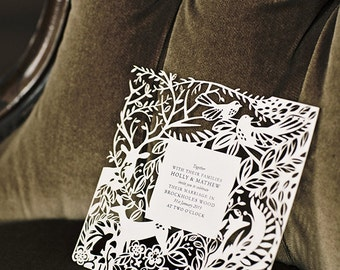 Woodland Collection - Sample Pack - Wedding Stationery