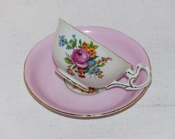 Royal Grafton Vintage China Teacup Pink - 996