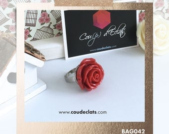 Ring Rose - Red