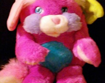 Vintage 1980s Mattel POPPLE Prize Popple Stuffed Plush Doll!!