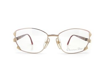 Genuine 1980s Christian Dior 2734 43 Vintage Glasses // Made in Austria // New Old Stock