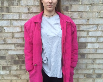 1 DOLLAR SHIPPING // Pink Carty Co. Trench Jacket