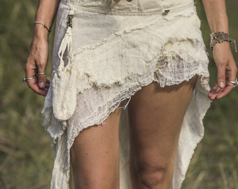SALE Ragged Ruffle Skirt