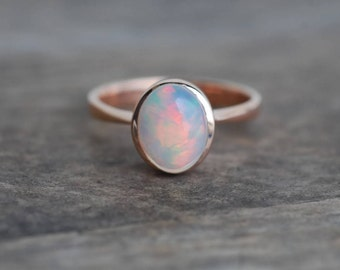 opal engagement ring, opal ring, opal wedding ring, natural opal ring, Ethiopian opal ring, Wello opal ring, silver opal ring, gold opal rin