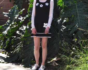 Mod Flower Mini Dress