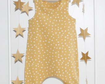 Baby Romper, Romper, Toddler Romper, Organic Cotton, Newborn Romper, Boy Romper, Girl Romper, Organic Baby Clothes, Hipster baby clothes