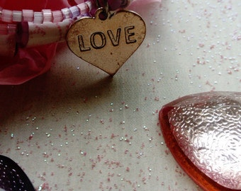 lovable - beaded cuff bracelet