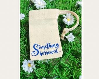 Wedding Bridal Jewellery Drawstring Gift Bag