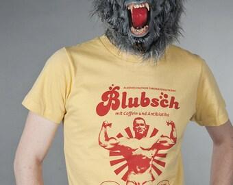 Blubsch - retro screenprint of shirt boys