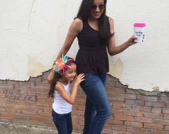 Mommy Fuel Travel Mug | Mothers Day Gift | Gift for Mom | Mothers Day Tumbler | Inspirational Mug | Mug for Mom |