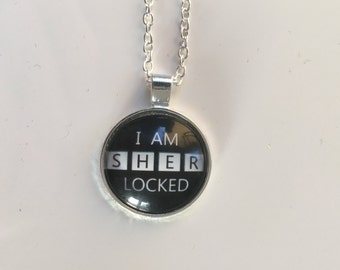 Sherlock 'I am Sherlocked' necklace