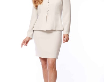 Gloria's Two-piece Skirt Suit Set
