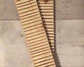 wood envelope drying rack