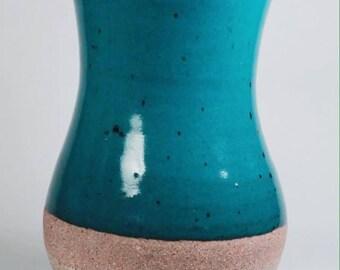 Planter, Plant pottery, Plant pot, Vase, Vessel, Blue vase