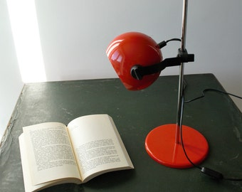 Desk lamp vintage, model Space Age of Reggiani