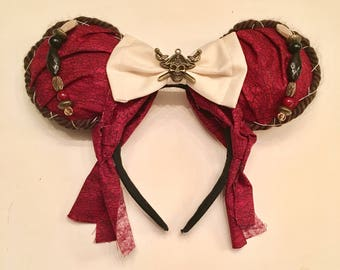 Pirates the of Caribbean inspired ears