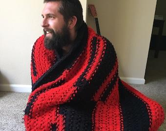 Custom Hairpin Lace Crochet (Afghan) Blanket