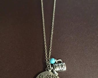 Sweeter than Sweet tea necklace
