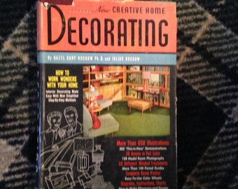 "Vintage ""New Creative Home Decorating"" - FREE Domestic US Shipping!"