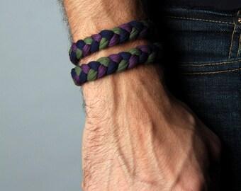 Wrap Bracelet, Yoga Bracelet, Gift, Burning Man, Anniversary Gifts, Hipster, Boho Jewelry, Groomsmen Gift, Bohemian Jewelry, Brother Gift