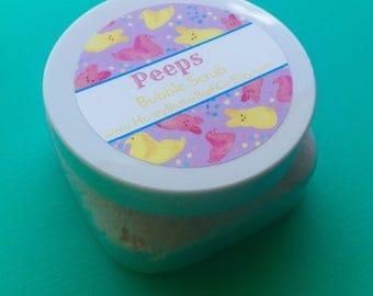 SALE Peeps Whipped Bubble Scrub | Sugar Scrub | Body Wash | Easter Basket | Gift | Mom | Herbal | Bath | Beauty | Marshmallow | Sugar | Egg