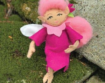 Fairy Sewing Kit, Felt Fairy Kit, Felt Doll Kit, Beginner Sewing Kit, DIY Sewing, Doll Pattern - 'Dawn' Heidi Boyd