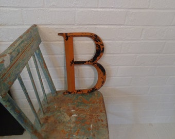 """Large Metal """"B"""""""