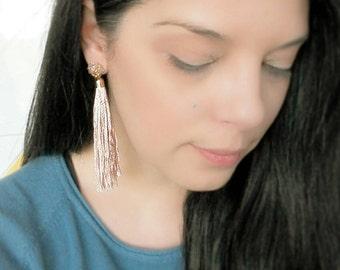 long earrings,tassel earrings,boho earrings, jewelry, bohemian, cluster earrings, hippie jewelry, crystal earrings, chandelier earrings