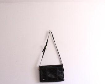 Minimal Classic Leather Shoulder Bag