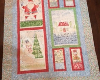 Merry Stitches Quilt Kit with Cori Dantini Fabrics