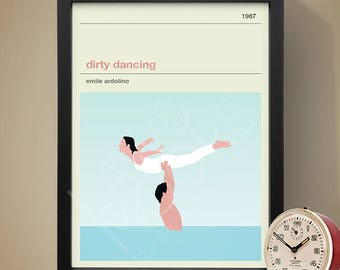 Dirty Dancing Movie Poster - Movie Poster, Movie Print, Film Poster, Film Poster