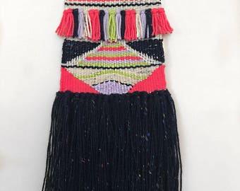 Wall Weaving - Pop of Color