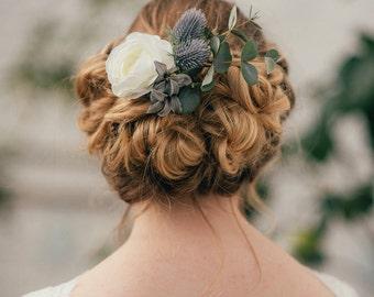 Ophelia Thistle Hair Clip