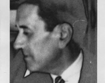 Vintage Photo..Abstract Man, 1950's Original Found Photo, Vernacular Photography