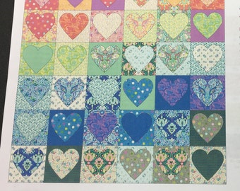 "Tula Pink From the Heart Quilt Kit 72"" x 72"""
