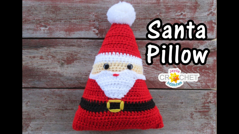Crochet santa pillow pdf pattern plush christmas decoration zoom bankloansurffo Image collections