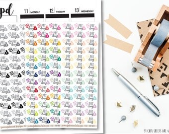 Pay Day Stickers - Planner Stickers - FS37