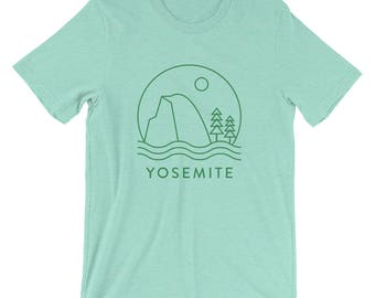 Half Dome in Yosemite National Park T-shirt