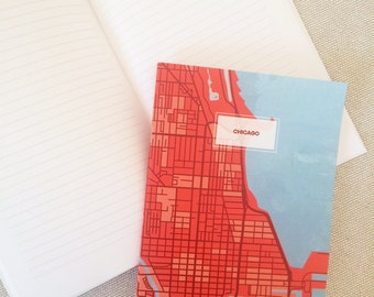 Chicago Map Notebook