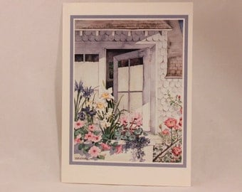 Greeting Card by Interart. Single Card with Envelope per purchase. Open Window